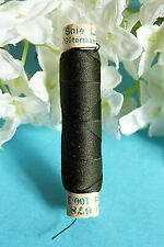 "758B / Superb Coil Wire Silk Gutermann Laska "" Bottle Green "" N° 678"