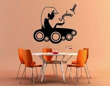 Smokers Area - highest quality wall decal stickers