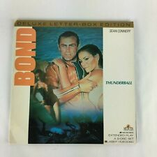 """Laser Disc:James Bond 007: """"THUNDERBALL"""""""