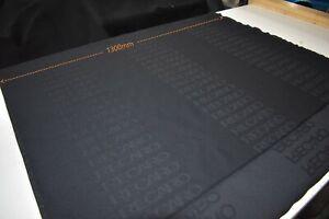"""Recaro """"Black Spectrum"""" Fabric Cloth Genuine New Old Stock (1m)"""