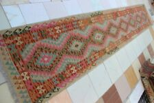 432284..Best Quality Hand Woven Lamb Wool Kilim..Size ..485 x 85..CM