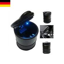 Von DE LED Universal Aschenbecher mit Deckel Ascher Getränkehalter für Fahrzeuge