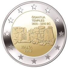2 euros conmemorativos Malta 2016 - TEMPLOS GGANTIJA - S/C ENVIO YA!!