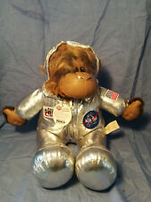 NASA Space Chimp Monkey Kennedy Space Center Jaag Plush Private Ham
