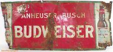 Anheuser Busch Budweiser 1920's Vintage Beer Sign