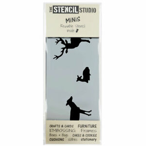 Stencil MiNiS - Deer Stag Fawn stencil -Reusable Stencils for Crafts & DIY 10522