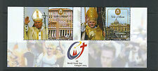 Isle of Man 2005 World Youth Day Cologne (Pope Paul) Vf Mnh pair