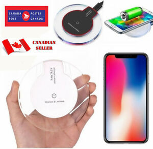 Qi Wireless Charger Charging Pad For iPhone 11 XS MAX XR 8 Samsung S9 S8 S10+