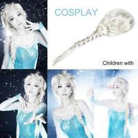 Anime Lolita Wavy Frozen ice Romance Elsa Anna Princess Cosplay Hair Wigs HOT LJ