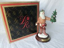 "Pioneer Santa- Duncan royal- ""The History of Santa Claus� collection"