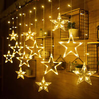 2M Star Shape LED Fairy String Lights Wedding Party Bedroom Christmas Decoration