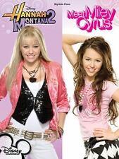 Hannah Montana 2/Meet Miley Cyrus Big Note Piano Book Hal Leonard