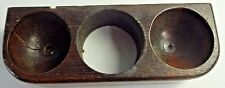 New listing Vtg 1920 Victor Victrola Vv Xi Upright Phonograph Part - Wood Needle Cup Holder