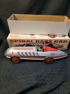 Rare Vintage Schylling Spiral Race Car Estate Find in Box