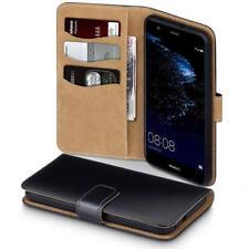 Fundas con tapa, modelo Para Huawei P10 Lite de color principal negro para teléfonos móviles y PDAs