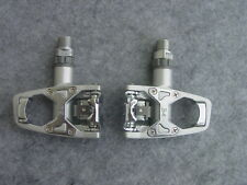 Wellgo Wam R 4 Road Bike Pedals Silver Nip Similar System Look