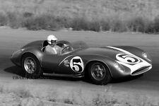 Scarab F1 Grand Prix racing 1958 Formula One Grand Prix paddock - photograph