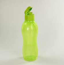 Tupperware Large Water Bottle 1L BPA Free Lime Base & Pour Seal Rare New