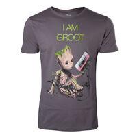 NEW! Marvel Comics Guardians Of The Galaxy Vol. 2 Men's I Am Groot T-Shirt XL