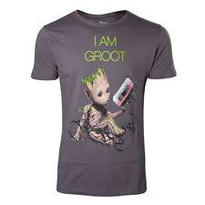 NEW! Marvel Comics Guardians Of The Galaxy Vol. 2 Men's I Am Groot T-Shirt XL