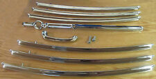 1955 1956 1957 CHEVY NOMAD TAILGATE BARS COMPLETE SET with HANDLE Set of 8 *USA*