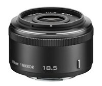 Nikon single focus lens 1 NIKKOR 18.5 mm f / 1.8 Black Nikon CX format only F/S