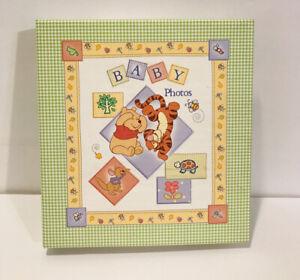 Disney Baby Winnie the Pooh Baby's Photo Album Memory Book Stepping Stones New