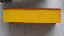 Vintage Oo Ho Scale Wood Boxcar Body Yellow