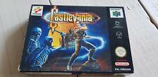 * Castlevania * Nintendo 64 N64 * Boxed * RARE PAL * EUR  *