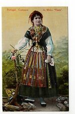 "PORTUGAL Costumes, coutumes Femme en costume Do Minho "" Viana """