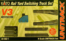 NIB N Kato #20-862-1 Unitrack V3 Rail Yard Switching Track Set