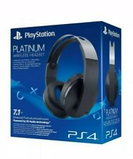 Sony PlayStation 4 Platinum Wireless Headband Headset WID01540010374