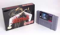 Clock Tower - game For SNES Super Nintendo - Cart and Box!