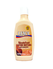 Lexol Neatsfoot Leather Dressing Cleans Restores Protects Non Darkening 8 fl Oz.