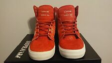 Men's Supra Skytop Skateboard Pro Muska 001 Limited Edition Faded Red / Size 9