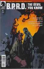 BPRD DEVIL YOU KNOW #11 DARK HORSE COMICS COVER A MIGNOLA