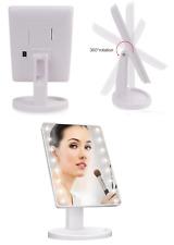 16 LED Make Up Mirror Adjustable Illuminated Tabletop Makeup Vanity Stand Mirror