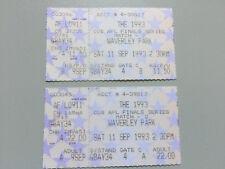The 1993 CUB AFL Finals - Match 2 - Waverley Park - Tickets X 2
