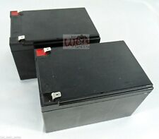 (2) Replacement Batteries 4 UB12120 D5775 F2 12V 12AH RBC6 Childrens Toy Car