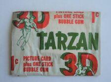 1955 Topps 3D Tarzan TV series Unopened Pack - FLASH SALE