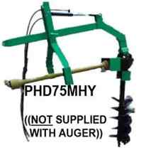 75HP POST HOLE DIGGER with HYDRAULIC PART NO. = PHD75MHY