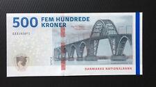 DENMARK 500 KRONER 2019(2020) UNC P-73a.3 NEW