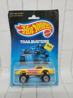 Hot Wheels Monster Vette Trailbusters Series #3716 New NRFP 1986 Yellow CTS 1:64