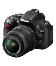 Nikon D5200 24.1 DSLR CAMERA with AF-S 18-55mm VRII Kit Lens !!