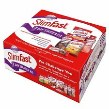 SlimFast 7 Day Starter Kit Body Weight Loss Diet Slim Fast 1 Week Plan Pack