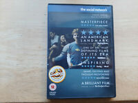 THE SOCIAL NETWORK DVD UK EDITION REGION 2 DRAMA FILM MOVIE