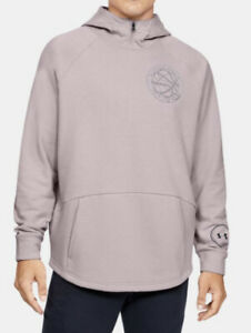 Under Armour Men's Stephen Curry Pi Day Pullover Hoodie Size XXL Dash Pink NWT