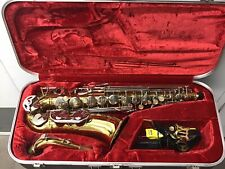 Armstrong Alto Saxophone with case & accessories.