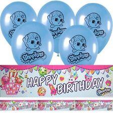 Globos de fiesta color principal rosa cumpleaños infantil