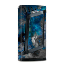 Skin Decal for Smok Alien 220w TC Vape Mod with Grip-Guard / Blue Grey Painted